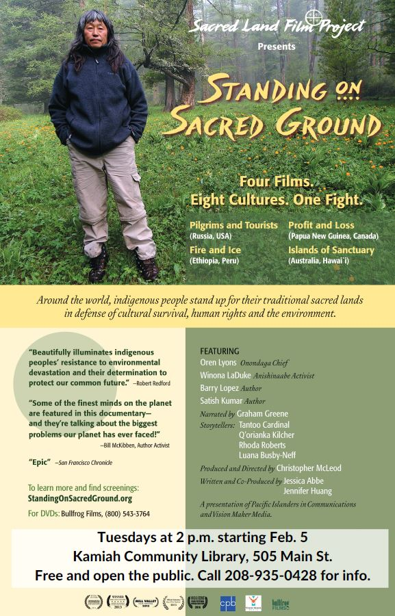 Standing on Sacred Ground Films (Kamiah)Nez Perce Tribe